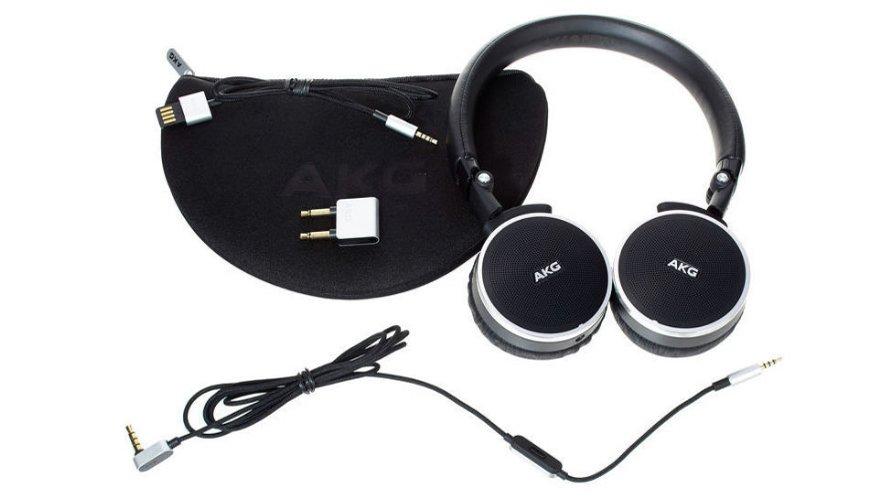 akg n60 nc f r 149 on ear kopfh rer mit noise. Black Bedroom Furniture Sets. Home Design Ideas