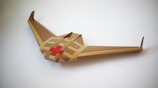 Militärtechnik: Drohne aus Pappe löst sich nach Einsatz auf