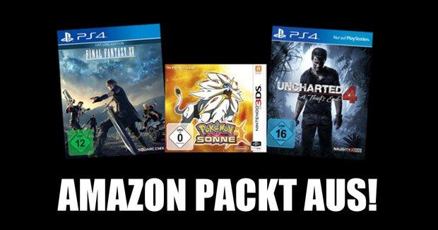 Amazon: Diese Spiele und Konsolen wurden 2016 am häufigsten verkauft