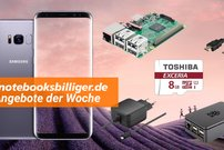 notebooksbilliger.de Angebote: Raspberry Pi 3 Multimedia Bundle, Galaxy S8 Vorbesteller-Bonus, iPhone SE und mehr