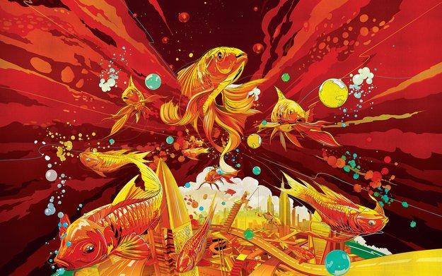 Chinesisches Neujahr: Apple bietet gezeichnete Desktop-Hintergründe zum Download an