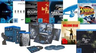Günstige Blu-rays bei Saturn: Filme ab 4 €, Kollektionen ab 10 €, 10 Blu-rays für 50 €