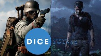 D.I.C.E.-Awards 2017: Uncharted 4 mit 10 Nominierungen