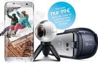 Samsung Rundumpaket: Gear VR + Gear 360 für 99 € beim Kauf eines Galaxy S7 (edge) – die besten Deals zur Aktion