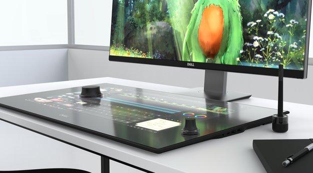 Dells Canvas ist ein Surface Studio – aber ohne PC