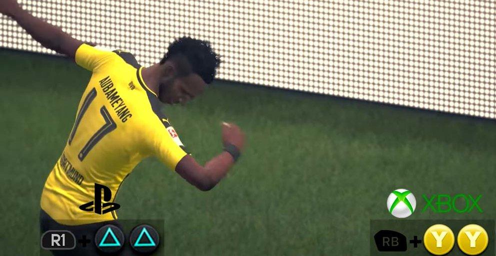 FIFA 17 dab