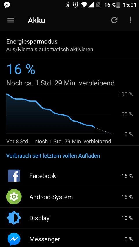Facebook Messenger Akku Problem OnePlus 3