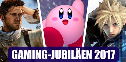 Diese Gaming-Jubiläen darfst Du dieses Jahr auf keinen Fall verpassen