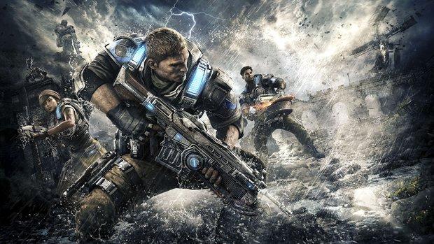 Gears of War 4: So spielt sich der Shooter mit Microsofts HoloLens