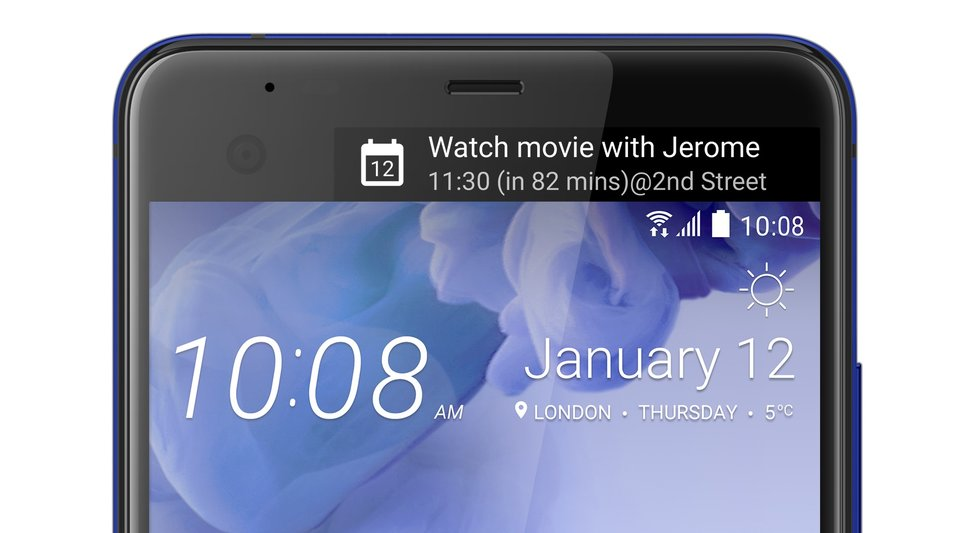 HTC U Ultra_Blue_Dual Display