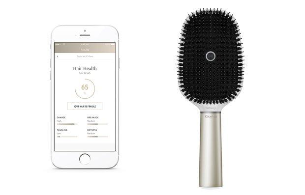 Betthupferl: Die Haarbürste mit Smartphone-Anbindung von Withings