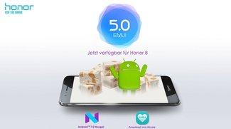 Honor 8: Update bringt Android 7.0 mit EMUI 5.0 und neuen Funktionen