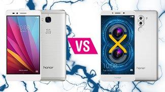 Honor 5X vs. Honor 6X: So gut ist der Nachfolger im direkten Vergleich