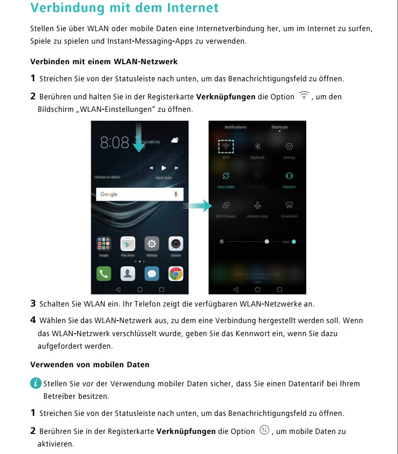 Huawei-P9-Bedienungsanleitung