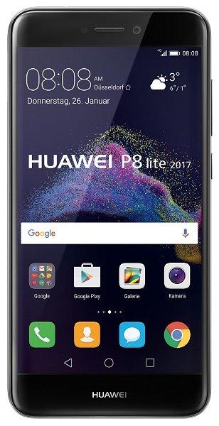 Huawei_P8_Lite_2017_Black_front