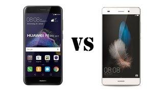 Huawei P8 Lite 2017 vs. P8 Lite: Die Unterschiede im Vergleich