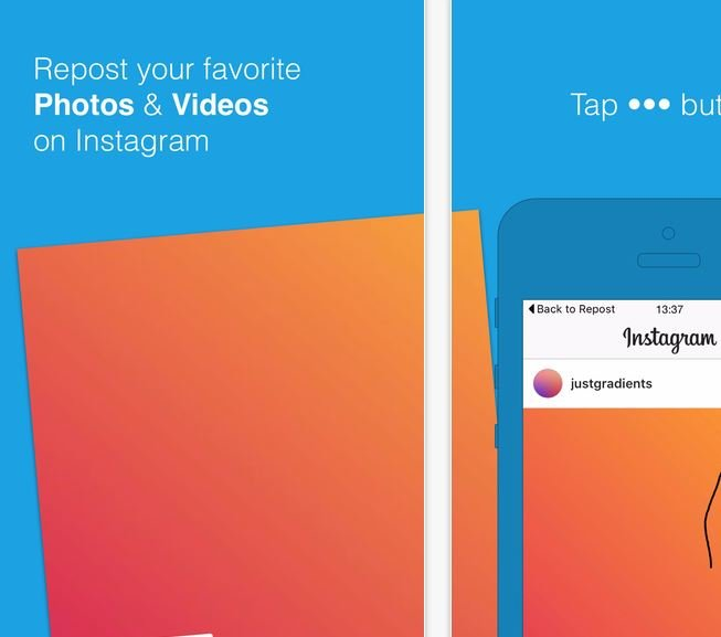Instgram Repost App