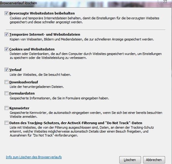 Cache Löschen Firefox