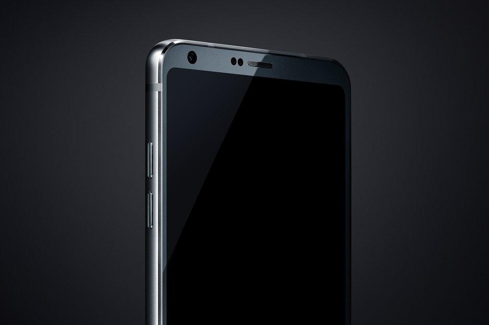 LG G6 Pressebild Oberseite