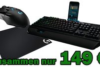Logitech Gaming Pro Bundle für 149 € – mechanische RGB-Tastatur + Wireless Gaming-Maus + Gaming Mouse Pad