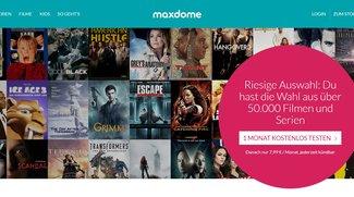 maxdome-Login am PC und per App: Hier geht's zum Video-on-Demand-Account