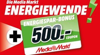 Media Markt Energiewende: Bis zu 25 % Rabatt auf Fernseher, Beamer und Haushaltsgroßgeräte