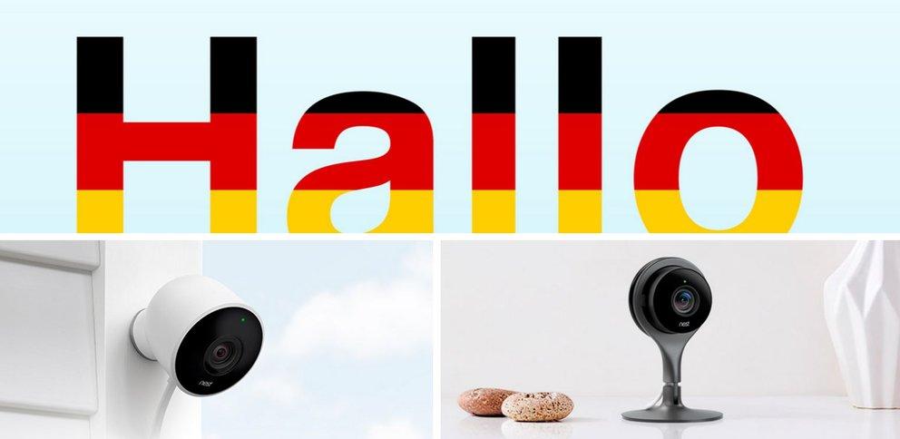 Nest begrüßt seine Kunden in Deutschland (Quelle: Screenshot Herstellerwebseite)