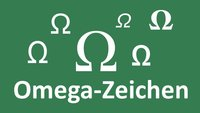 Omega-Zeichen schreiben: So geht's an PC und Mac