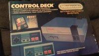 Original verpacktes NES inklusive Spiele gefunden