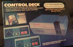Original verpacktes NES...