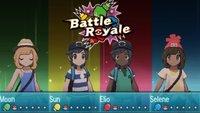 Pokémon Sonne und Mond: Battle Royale und die Arenakämpfe