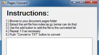 Pages Convert