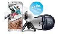 Samsung-Aktion: Gear 360 und Gear VR für 99 Euro beim Kauf des Galaxy S7 (edge)