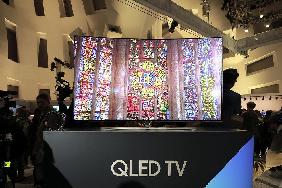 Samsung QLED TV 2017 (Quelle: Hersteller)