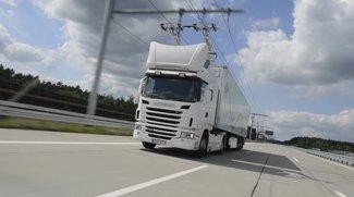 LKW mit Oberleitung fährt ab 2018 auf deutschen Autobahnen