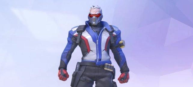Overwatch Soldier 76 kontern