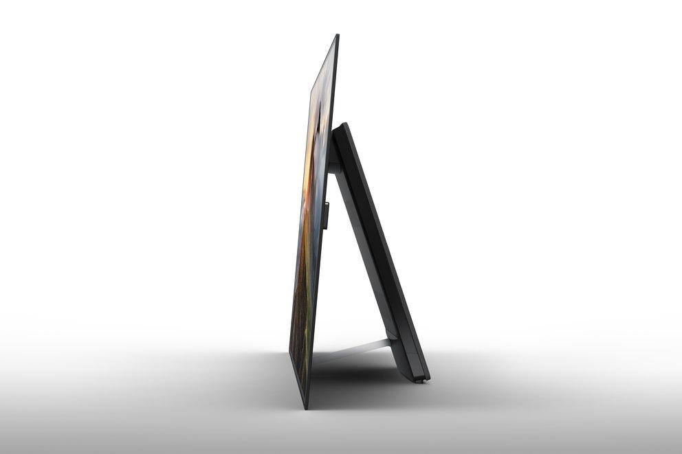 Der Sony Bravia A1 hat keine sichtbaren Lautsprecher (Quelle: Sony)