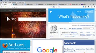 Tile Tabs für Firefox