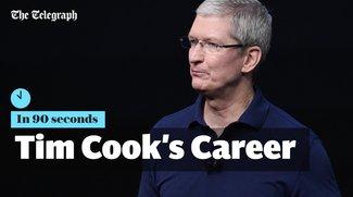 Tim Cook: Video dokumentiert Karriere in 90 Sekunden