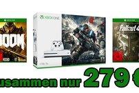 Mega-Deal: Xbox One S mit 1 TB inklusive Gears of War 4, Doom und Fallout 4 für 279 €