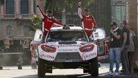 Härteste Rallye der Welt: Elektroauto erreicht erstmals das Ziel