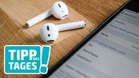 Einstellungen für AirPods: So konfiguriert man die Kopfhörer auf iPhone und Mac