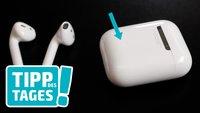 Reset der AirPods: Kopfhörer bei Akkuproblemen etc. zurücksetzen