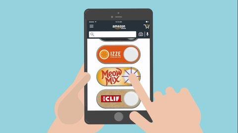 Produkte nachbestellen: Amazon Dash Buttons jetzt auch virtuell