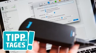 iPhone-Backup von iTunes verschieben oder auslagern, so gehts