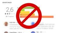 Google-Bewertung löschen (eigene & fremde) – so geht's