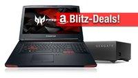 Blitzangebote: Seagate Personal Cloud (5 TB NAS), USB-C RAID, Gaming-Notebook & -Monitor zum Bestpreis