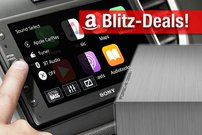Blitzangebote:<b> Apple CarPlay Radio, AirPlay-Receiver, 5 TB Porsche-Festplatte, diverse Smartphones günstiger</b></b>
