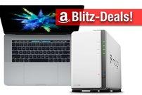 Blitzangebote & CyberSale: MacBook Pro mit Touch Bar, 6 TB Synology NAS, 4K TV zum Bestpreis