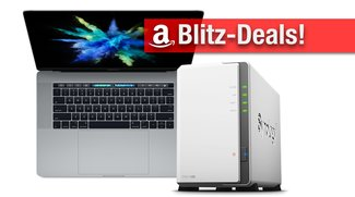 Blitzangebote & CyberSale: MacBook Pro mit Touch Bar, 6 TB Synology NAS, 4K TV zum Bestpreis